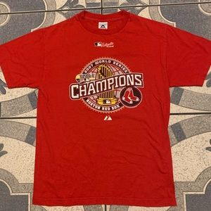 '07 Boston Red Sox World Series Champions Tee Sz M